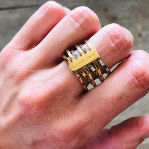 ♥️ Michael Kors ♥️ Tri-Color Ring